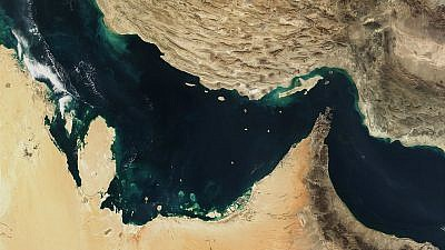 A satellite image of the Persian Gulf, also known as the Arabian Gulf, Strait of Hormuz and the Gulf of Oman, Dec. 30, 2001. Credit: NASA via Wikimedia Commons.