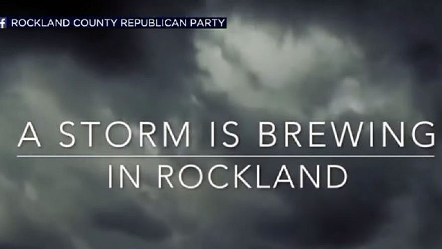 Image from a video released by the Rockland County Republican Party. Source: Screenshot.