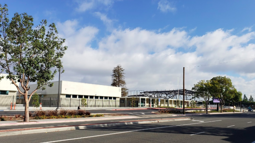 Pacifica High School in Garden Grove, Calif. Credit: Screenshot via Google Maps.