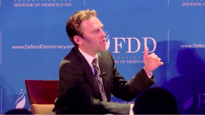Mark Dubowitz, CEO of the Foundation for Defense of Democracies. Credit: Screenshot.