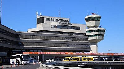 Tegel Airport in Berlin. Credit: Pixabay.
