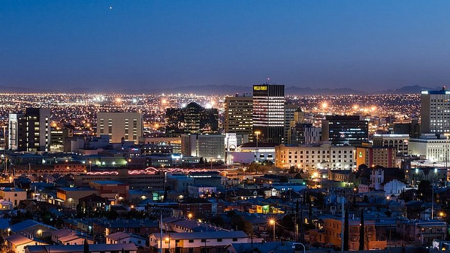 A view of El Paso, Texas. Credit: Pixabay.
