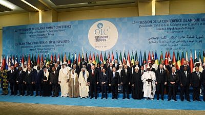 Session of the Islamic Summit Conference in Istanbul, Turkey, April 2016. Credit: Wikipedia.