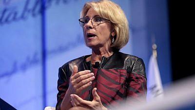 U.S. Secretary of Education Betsy DeVos. Credit: Flickr.