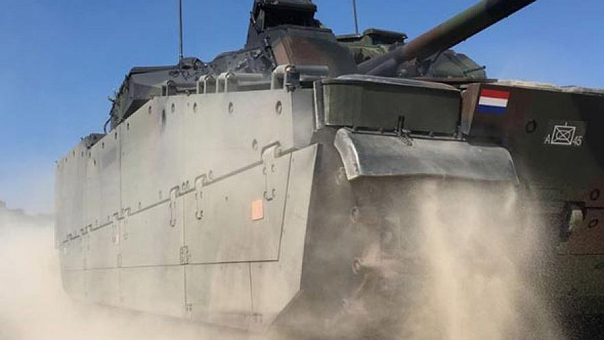 Dutch CV90 vehicle. Credit: BAE Systems.