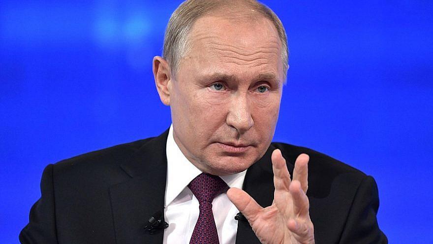 Russian President Vladimir Putin. Credit: Kremlin.