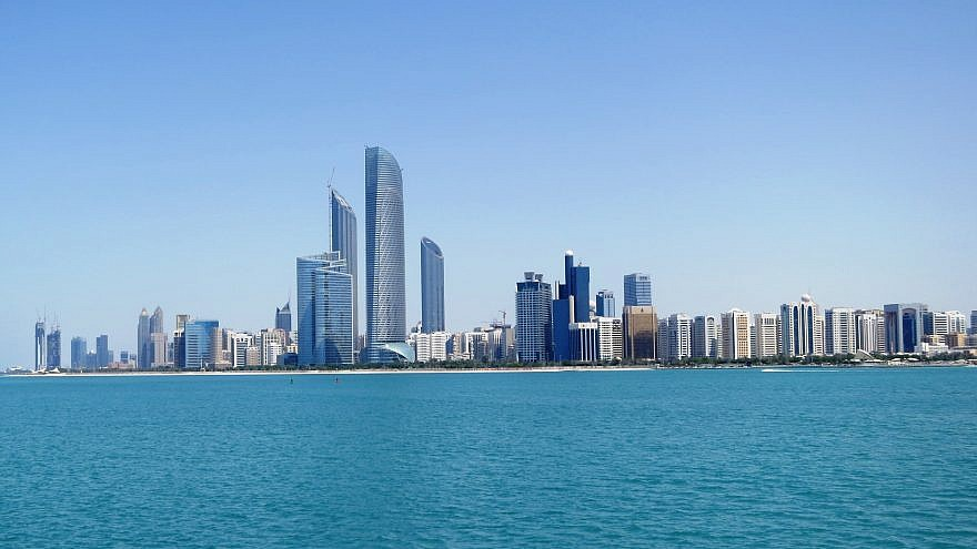 Abu Dhabi, the capital of the United Arab Emirates. Credit: Wikimedia Commons.