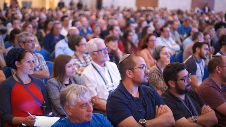 "Tikvah Fund Israel's ""Conservatism conference"" in Jerusalem on May 16, 2019. Source: Screenshot."
