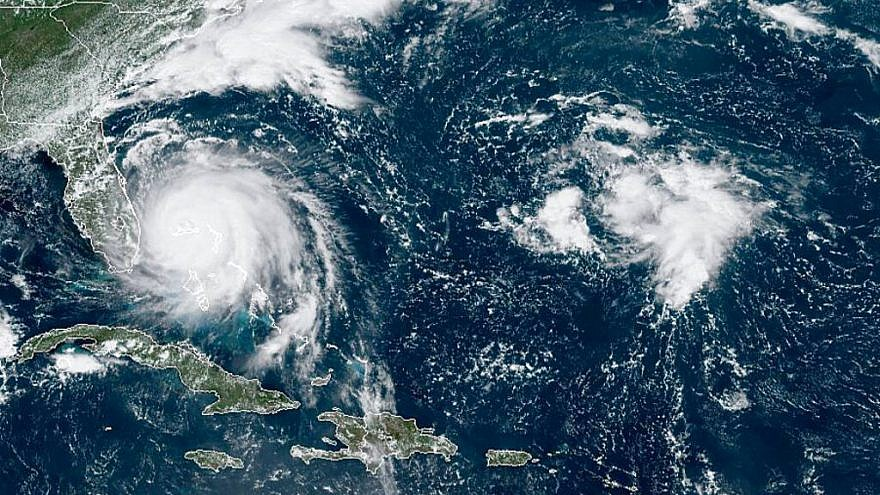A GOES-16 satellite image taken of Hurricane Dorian as it approached the Bahamas on Sept. 2, 2019. Credit: NOAA.