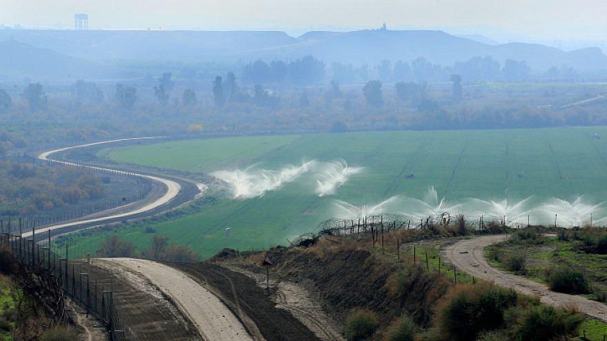 View of the Jordan Valley. Feb. 15, 2011. Photo by Moshe Shai/Flash90.