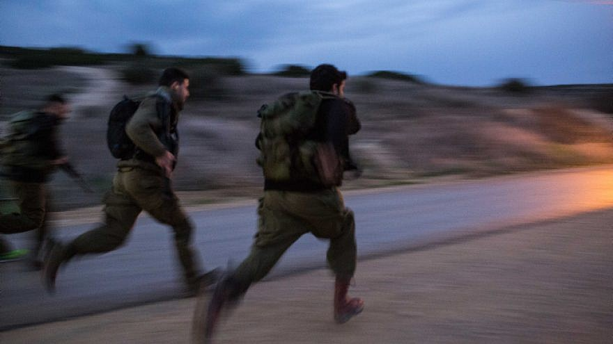 Israeli reserve soldiers take part in a training drill in Baf Lachish army base in southern Israel on Dec. 19, 2016. Photo by Maor Kinsbursky/Flash90.