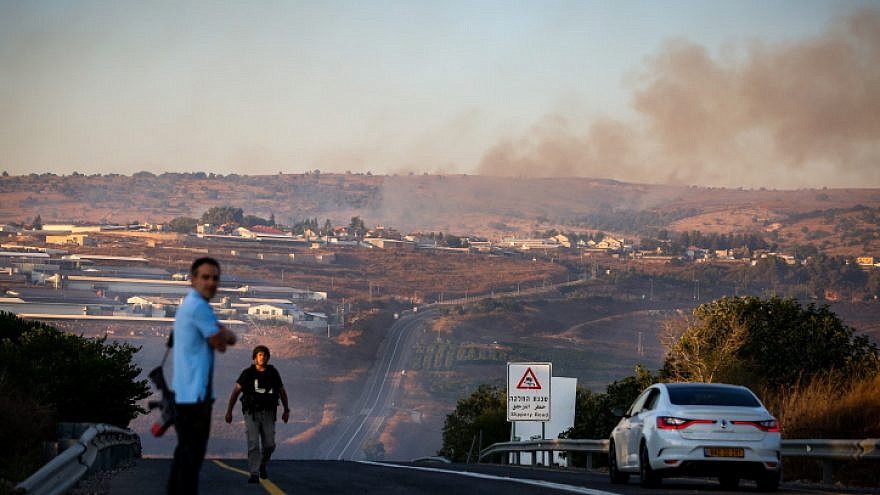 Hezbollah fires rockets at IDF base in northern Israel; no injuries reported
