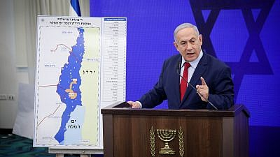 Israeli Prime Minister Benjamin Netanyahu delivers a statement in Ramat Gan on Sept. 10, 2019. Photo by Hadas Parush/Flash90.