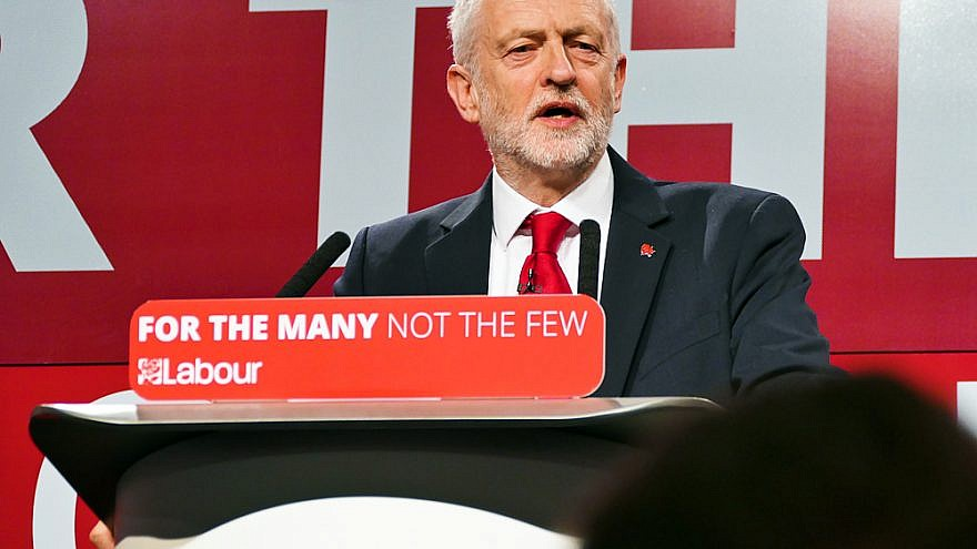 Labour Party leader Jeremy Corbyn. Credit: Wikimedia Commons.