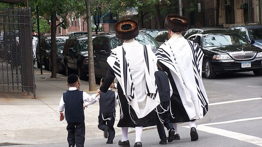 A view of the Satmar community in the Williamsburg neighborhood of Brooklyn, N.Y. Credit: Wikimedia Commons.