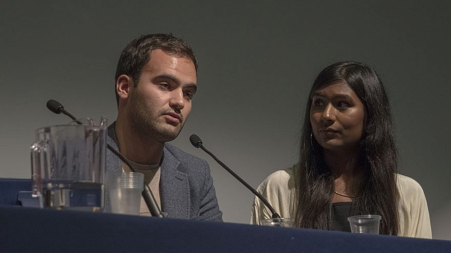 Ash Sarkar (right), a self-proclaimed Communist and BDS supporter. Credit: Wikimedia Commons.