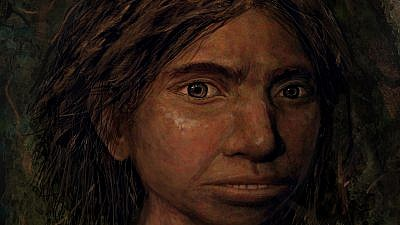 A portrait of a female Denisovan teenager. Credit: Maayan Harel.