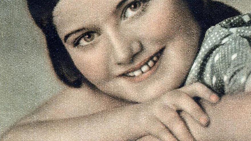 Polish Jewish teenager Renia Spiegel. Credit: Wikimedia Commons.