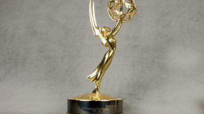 An Emmy Award. Credit: TCNJ.