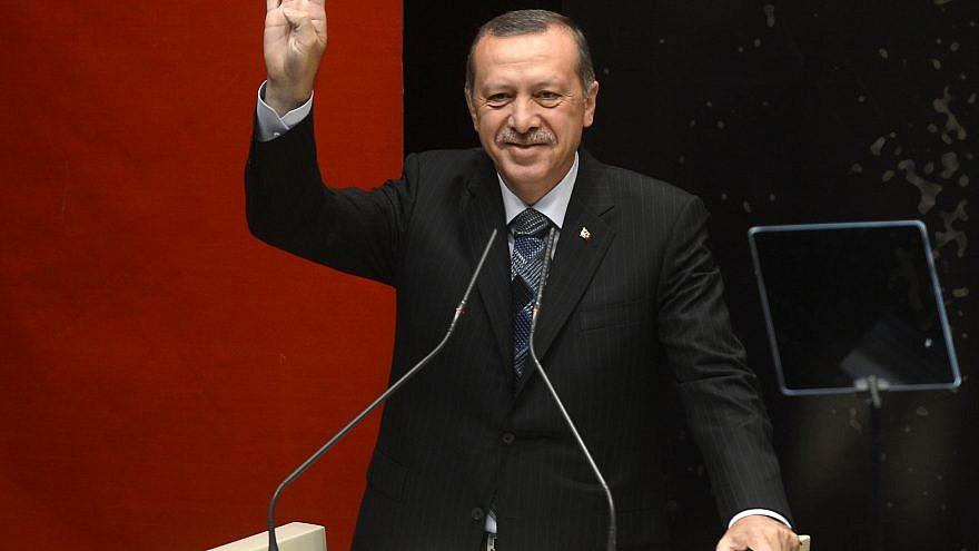 Turkish President Recep Tayyip Erdoğan. Credit: Wikipedia.