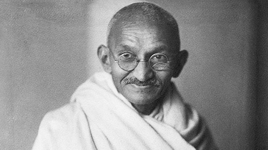 Mahatma Gandhi. Credit: Wikimedia Commons.