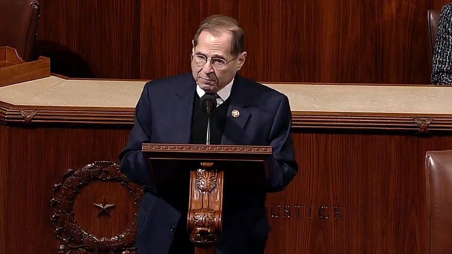 Rep. Jerrold Nadler (D-N.Y.), chair of the House Judiciary Committee. Credit: Screenshot.