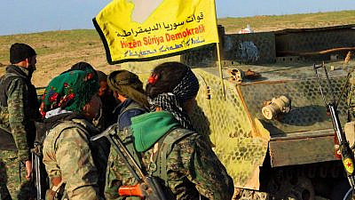 Syrian Kurdish YPR fighters. Credit: Flickr.