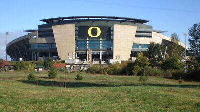 Autzen Stadium at the University of Oregon. Credit: Wikimedia Commons.
