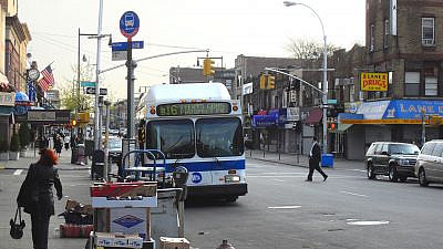 Borough Park, a heavily Jewish neighborhood in Brooklyn, N.Y. Credit: Wikimedia Commons.