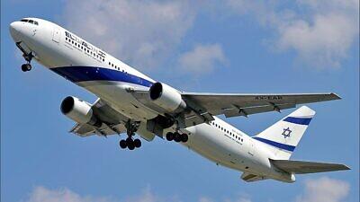 An El Al Israel Airlines Boeing 767, June 6, 2013. Photo: Aktug Ates via Wikimedia Commons.