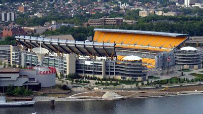 Heinz Field, home of the Pittsburgh Steelers. Credit: Tom Murphy VII via Wikimedia Commons.