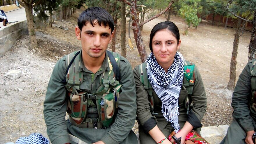 Kurdish YPG and YPJ fighters in Syria, September 22, 2014. Credit: Wikimedia Commons.