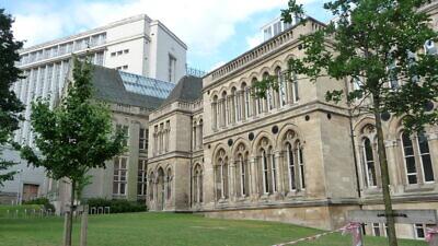 Nottingham Trent University in Nottingham, England. Source: Wikimedia Commons.