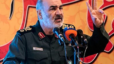 Iran's Islamic Revolutionary Guard Corps commander Maj. Gen. Hossein Salami. Photo: Mohammad Reza Jofar via Wikipedia Commons.
