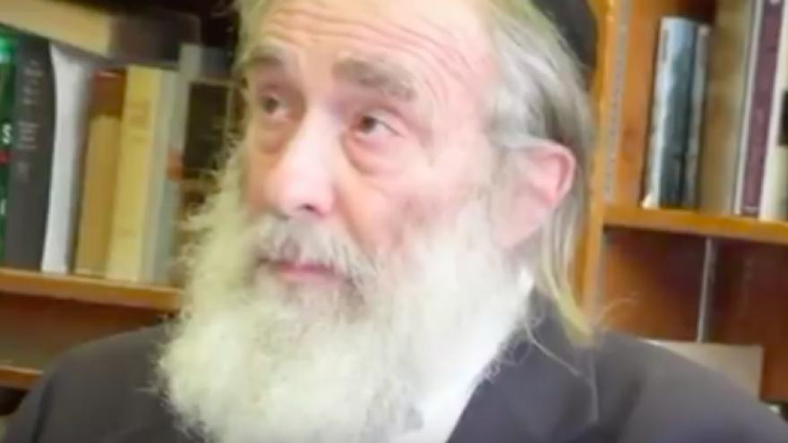 Rabbi Daniel Greer. Source: Screenshot.
