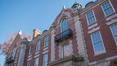 Seelye Hall at Smith College in Northampton, Mass., one of three academic buildings vandalized with swastikas. Credit: Wikimedia Commons.