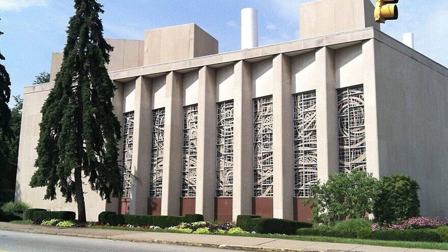 Tree of Life*Or L'Simcha Synagogue in the Squirrel Hill neighborhood of Pittsburgh, Pa. Credit: Jewish Federation of Greater Pittsburgh.