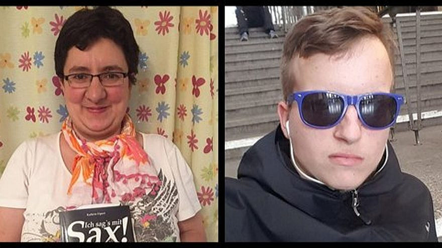 Jana Lange and Kevin S. have been identified as the two victims of attack in Halle, Germany, on Yom Kippur outside the synagogue and at a nearby kebab shop, Oct. 9, 2019. Source: Twitter.