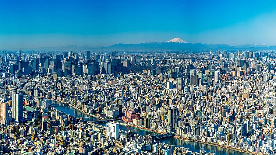 A view of Tokyo, Japan, which will host the 2020 Olympics. Source: Pixabay.