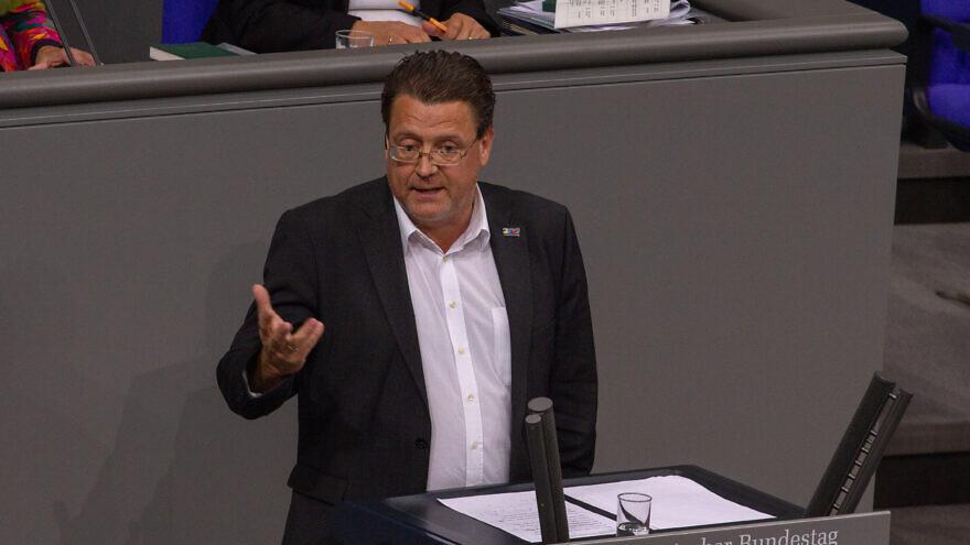 German AfD lawmaker Stephan Brandner. Credit: Wikimedia Commons.