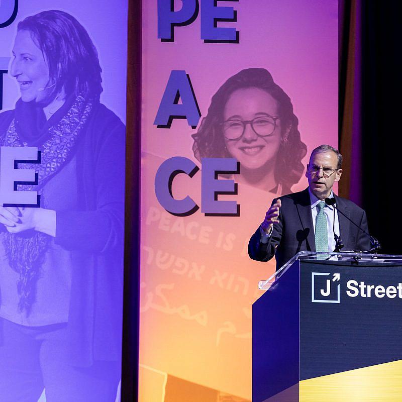 J Street President Jeremy Ben-Ami addressing the 2019 J Street National Conference. Source: J Street via Flickr.