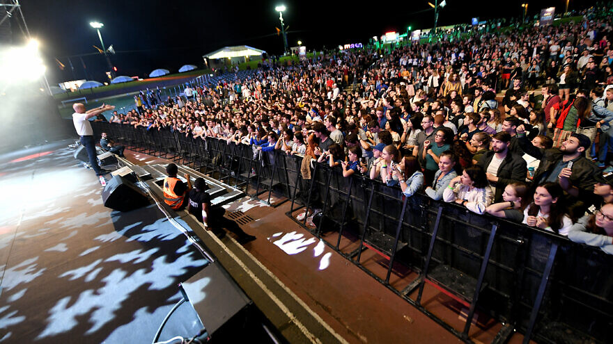 Some 2,500 Masa fellows, alumni and professionals from 40 countries gathered at Ra'anana Park Amphitheater in Israel to celebrate the launch of the 2019-20 programming year and organization's 50th anniversary. Photo by Ran Biran.