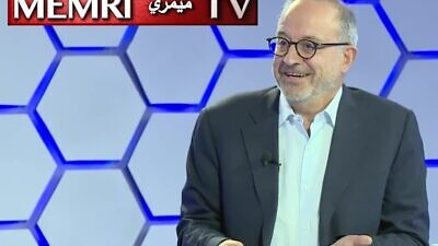 Former Jordanian Foreign Minister Marwan Muasher speaks during an interview with the Jordan's Al-Mamlaka TV that aired on Nov. 7, 2019. (MEMRI)