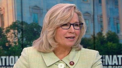 Rep. Liz Cheney (R-Wyo.). Source: CBS News.