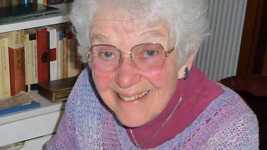 Laureen Nussbaum, a childhood friend of Jewish teenage diarist Anne Frank's. Credit: Wikimedia Commons.
