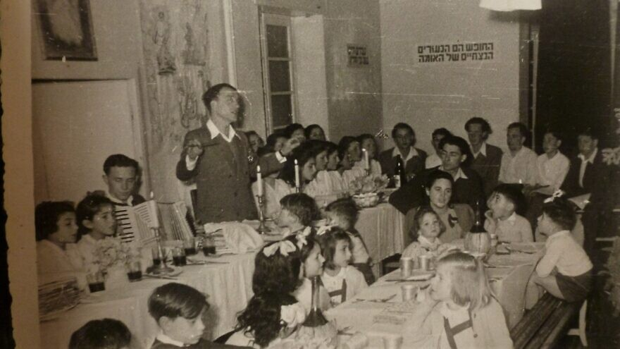 Erev Passover at the Sciesopoli House in Selvino, Italy. Credit: Wikimedia Commons.