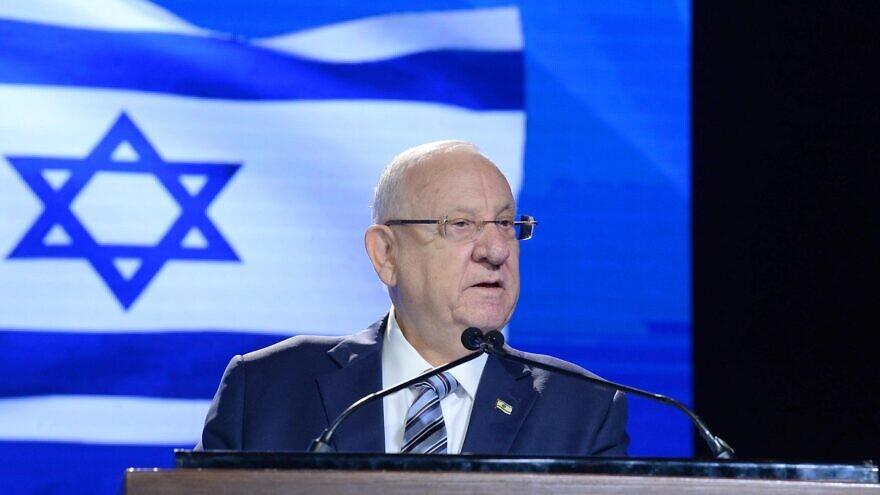 "Israel's President Reuven Rivlin at the ""Haaretz"" conference in Jerusalem on Oct. 30, 2019. Credit: Mark Neiman/GPO."