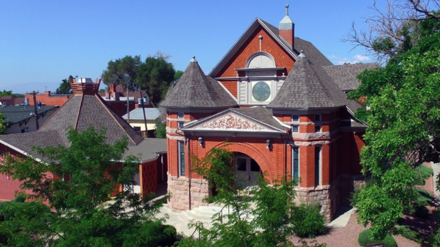 Temple Emanuel in Pueblo, Colo. Source: Screenshot via Google Maps Street View.