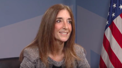 Eileen Filler-Corn was elected on Nov. 5, 2019, as both the first female and first Jewish Speaker of the Virginia House of Delegates. Source: Screenshot.