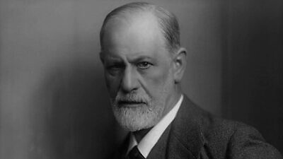 Photographic portrait of Sigmund Freud by Max Halberstadt, circa 1921. Credit: Wikimedia Commons.